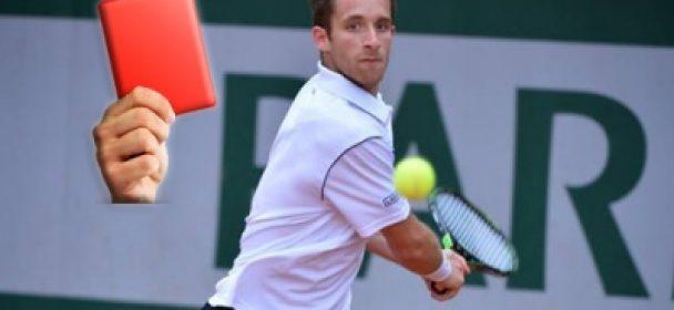 164-е место мирового теннисного рейтинга дисквалифицировано за совершение ставок